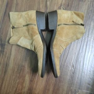 Nine West Shoes - Suede Ankle Boots by Nine West Vintage America